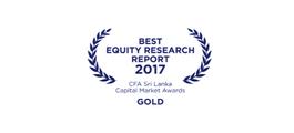 Best Stockbroking Research Team (Gold)
